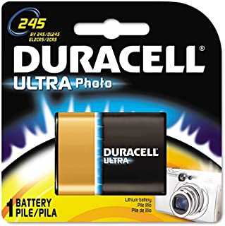 Duracell Products - Duracell - Ultra High Power Lithium Battery, 245, 6V - Sold As 1 Each - Latest advance in primary battery technology. - Lightweight, compact, high performance power source. - High density, long lasting and reliable.