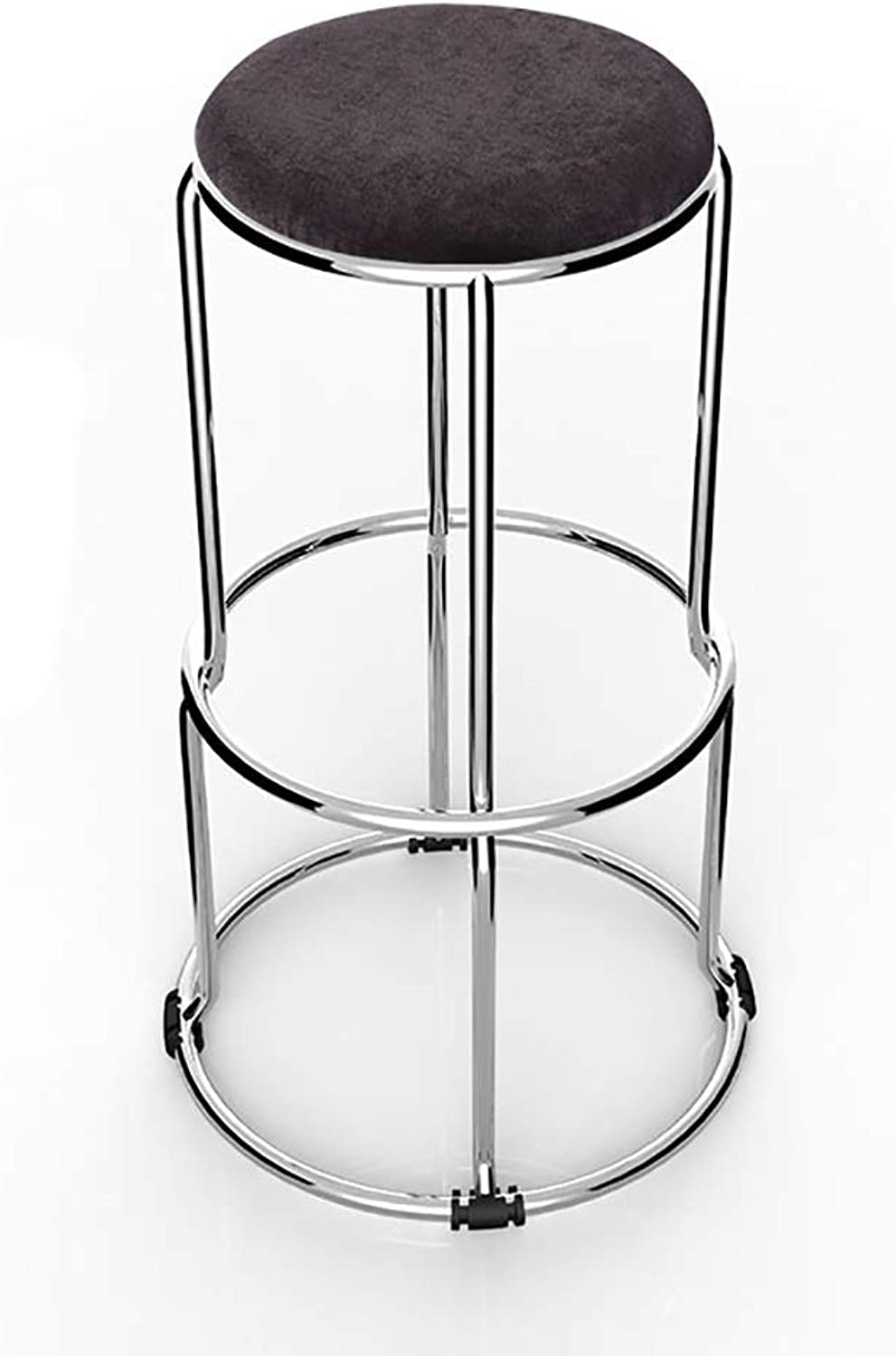 High Stool, Stainless Steel Stool, Kitchen Restaurant Dining Chair, 67cm for Laboratory Workshop Hospital Clinic Home School (color   A, Size   67CM)