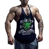 Photo Gallery muscle alive uomo fitness sotto maglie sportive canotta bodybuilding palestra allenarsi stringer vest