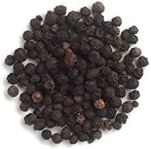 Frontier Co-op Peppercorns, Black Whole, Kosher, Non-irradiated | 1 lb. Bulk Bag | Piper nigrum L.