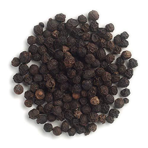 Frontier Co-op Peppercorns, Black Whole, Kosher, Non-irradiated   1 lb. Bulk Bag   Piper nigrum L.