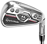 TaylorMade M CGB Max Irons Nippon NS Pro 840 Custom Pick Set Maquillaje Flex, flexibilidad Normal, RH / 5-SW