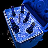 Brightz CoolerBrightz LED Cooler Light Rope - Waterproof String Lights for Ice Chests - 5-Foot Resuseable Battery Powered Bright Colored Lights (Blue Light Rope with Bottle Battery)