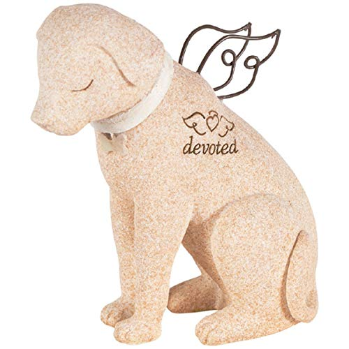 Bereavement Faithful Angel Memory Memorial Dog Pet Figurine Statue