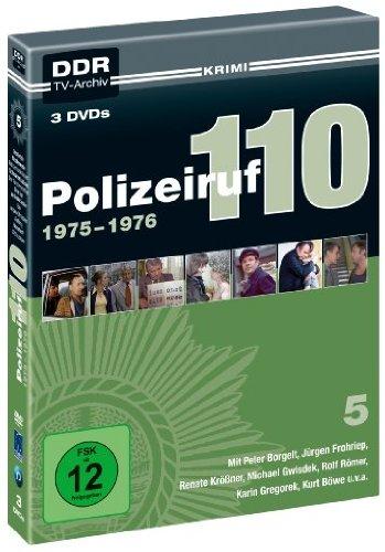 Polizeiruf 110 - Box 5: 1975-1976 ( DDR TV-Archiv ) - 3 DVDs