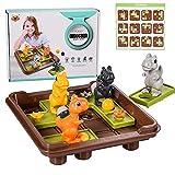 FORMIZON Juegos de Lógica, Juguetes Montessori, Juguetes Educativos de Dinosaurio Juguetes Aprendizaje, Rompecabezas Niños, Juego de Tablero Juegos de Rompecabezas para Niños