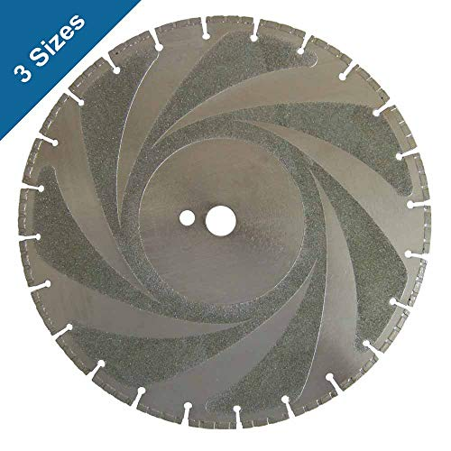 Ductile Iron and Steel Cutting Diamond Blades (3 Sizes) (12 In. x 3.2mm x 1 in. Arbor)