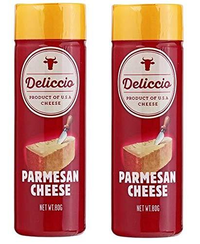 デリッチオ パルメザンチーズ(粉チーズ) 80g×2個