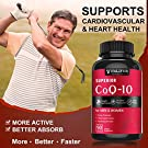 Pure CoQ10 400Mg per Serving - Max Strength - 200 Capsules - High Absorption Coenzyme Q10 Ubiquinone Supplement Pills, Extra Antioxidant for Healthy Blood Pressure & Heart #1