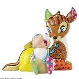 Disney Britto colección Bambi y Thumper Figura Decorativa, Multicolor