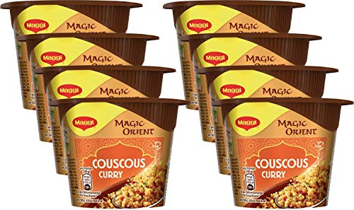Maggi Magic Orient Terrine Couscous Curry, 8er Pack (8 x 70 g)