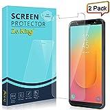 Zeking [2-Pack] Samsung Galaxy J8 (2018) Tempered Glass Screen...