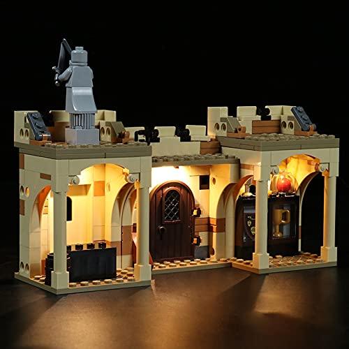 icuanuty Kit De Iluminación LED para La Primera Lección De Vuelo De Lego Hogwarts, Espectáculo De Luces Compatible con Lego 76395 (No Incluye El Juego De Lego)