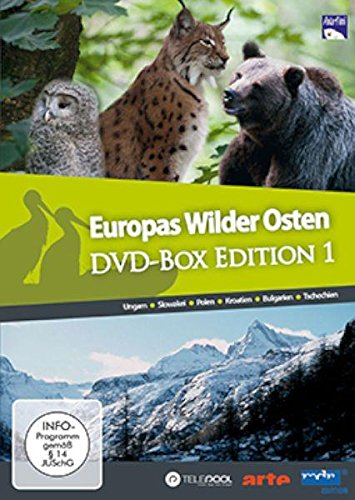 Europas Wilder Osten DVD-Box Edition 1 mit 6 DVDs