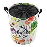 Cesta de lavandería plegable grande para la colada, cesta plegable para la colada, cesta plegable para lavar verduras