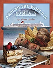 Around the World in 80 Meals by Diana Rubino (January 1, 2014) Paperback 1st