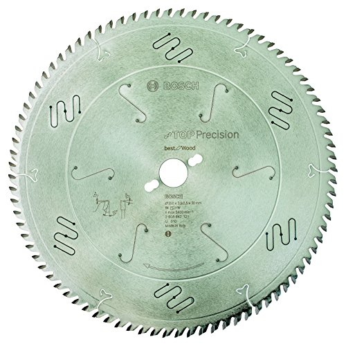 Bosch Professional Kreissägeblatt Top Precision Best für Wood, 350 x 30 x 3,5 mm, 84, 2608642121