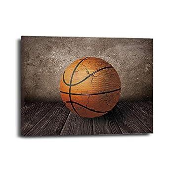 Basketball Canvas Wall Art Gifts Canvas Wall Art for Kids boy men Living Room Bedroom Office Teen Boy Room Décor 11.5 x15