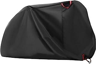 Wakauto 1 peça capa de motocicleta impermeável universal durável, poeira, chuva, neve, clima, proteção UV com bolsa de arm...