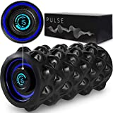Pulse Vibrating Foam Roller | 8 Speed Rechargeable Vibrating...