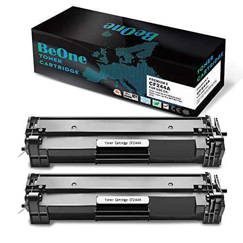 BeOne 2x tonercartridges HP CF244A 44A compatibel voor HP LaserJet Pro M15a M15w M16a M16w MFP M28a M28w M29a M29w