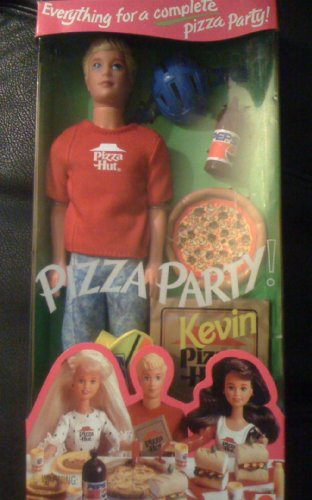 Pizza Hut Party Kevin Barbie Doll - With Pepsi - 1994