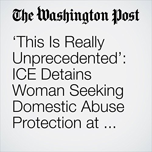 'This Is Really Unprecedented': ICE Detains Woman Seeking Domestic Abuse Protection at Texas Courthouse copertina