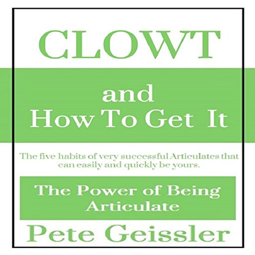 Clowt and How to Get It audiobook cover art