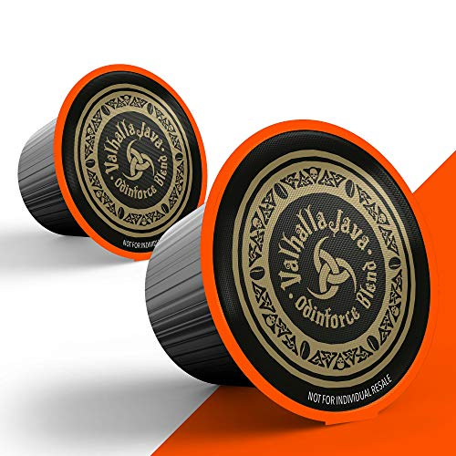 Valhalla Java Single Serve Coffee Pods for Keurig / K Cup Style 2.0 Brewers, Fair Trade and USDA Certified Organic