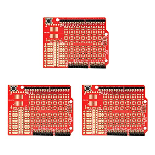 Gikfun Prototype Shield DIY KIT For Arduino UNO R3 Mega 328P(Pack of 3 sets) EK1038*3