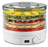 Food Dehydrator Machine, Electric Dehydrator for Jerky Food...