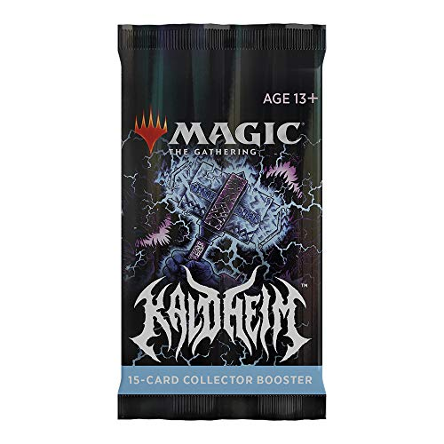 Magic The Gathering Kaldheim Collector Booster Pack | 15 Magic