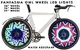 Fantasma OWL Bicycle On-Wheel Programmable LED Imaging System BK-7082 (700c~up)
