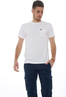 Timberland Men's Ss Dunstan River Pocket Slim Tee T-Shirt