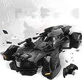 Liga de la Justicia coche teledirigido Batimóvil Joker Super Heroes Baatmann juguete Batimóvil 01:18 2.4G vehículo recargable de radio control eléctrico Presenta Racing for Niños Niñas Negro jianyou