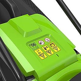 Greenworks G24LM33 Tondeuse à gazon sans fil sur batterie 35cm 40V Lithium-ion (sans batterie ni chargeur)