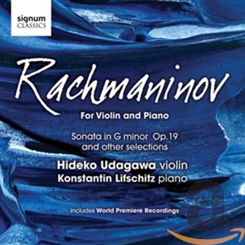 Rachmaninov Pour Violon Et Piano