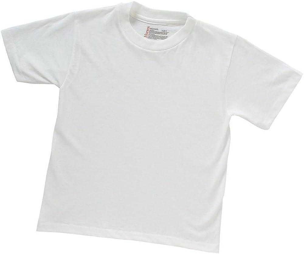 Hanes Boys' ComfortBlend Crewneck Undershirts 3-Pack - B223WH