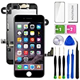 SunlerPro for iPhone 7plus Black 5.5' LCD 3D Touch Digitizer Screen Replacement with Front Camera+ Earpiece+ Tools Kit+ Screen Protector iPhone LCD Screen Replacement kit