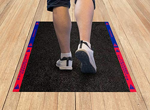 Cibol Alfombra - Felpudo desinfectante para Entrada. Hogar y Negocio. Calzado, Zapatos (80 x 60cm)