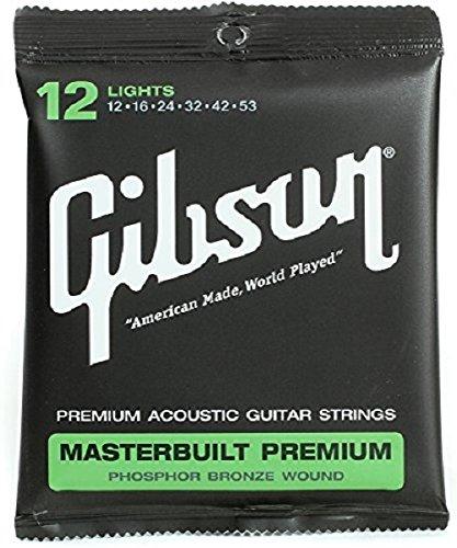 Gibson Masterbuilt Premium - Juego de cuerdas para guitarra acústica