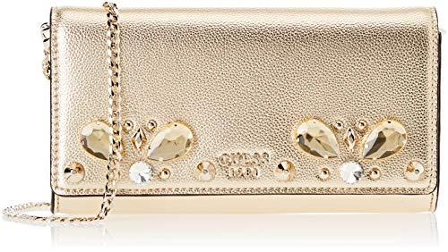 Guess Damen Summer Night City Shopper, Gold (Gold/Gol), 22.5x12.5x3.5 centimeters