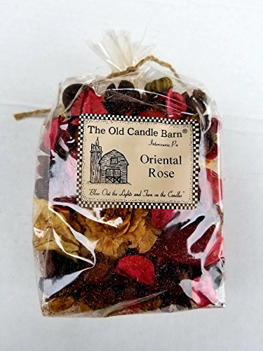 Old Candle Barn Oriental Rose Potpourri - Perfect For Spring, Summer, Fall, and Winter Decoration or Bowl Filler