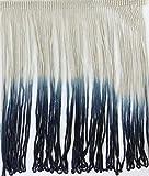 #23-07 Ombre Batik-Garn, mehrfarbig, 17,8 cm lang, zum