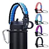 Paracord Handle Strap - Fits Wide Mouth Bottles 12oz to...