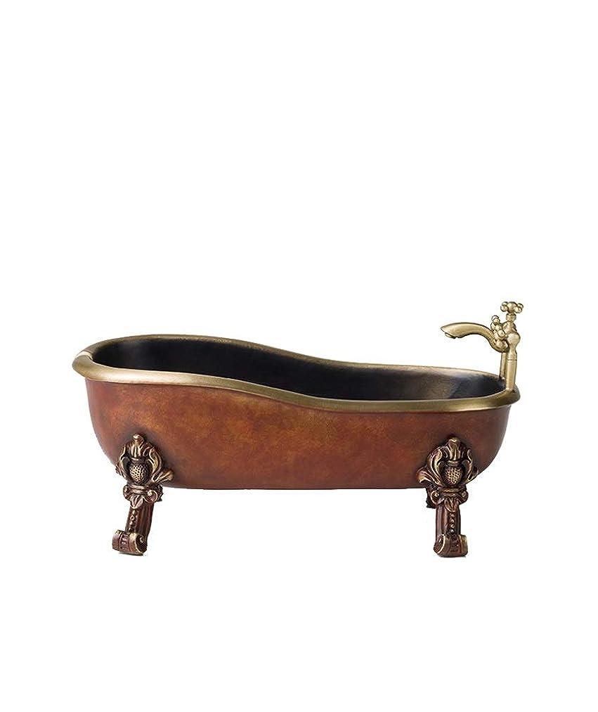 AO Bathtub Copper Ornaments Ashtray European Home Decoration Creative Copper Crafts Personality Ashtray