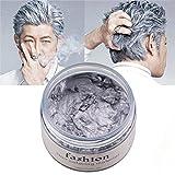 Einmaliges Haarfärbemittel Unisex DIY Haarstyling Wax Matte Finish Haar Modellierung Creme Instant...