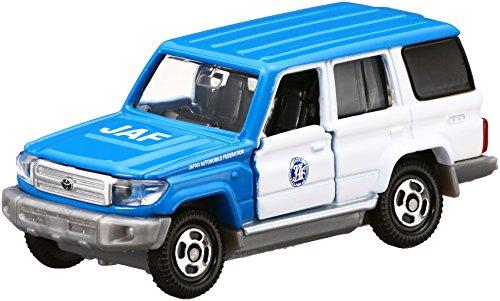TAKARA TOMY Tomica No.44 Toyota Land Cruiser JAF Road Service Auto (Box)