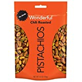 Wonderful Pistachios, No Shells, Chili Roasted, 5.5 Ounce Resealable Pouch...