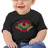RobinEllis Claypool Lennon Delirium Short Sleeved Shirt Baby T-Shirt Comfortable and Refreshing Baby Boy Baby Girl Black